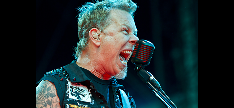"Metallica: James Hetfield parla del flop del loro film ""Through the Never"""