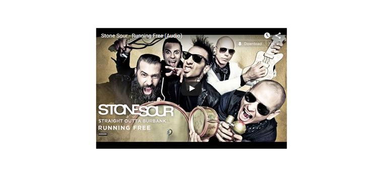 """Stone Sour: la cover di """"Running Free"""" degli Iron Maiden"""