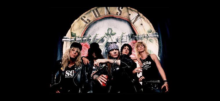 Guns N' Roses, segnali di reunion: in vendita il merchandising della formazione storica