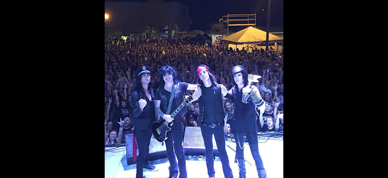L.A. GUNS: in Italia in estate
