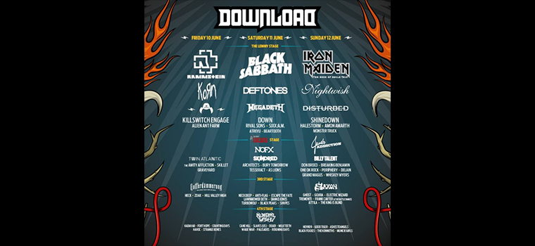 Dowload Festival 2016: ecco il Lemmy Stage e un sacco di nuove conferme